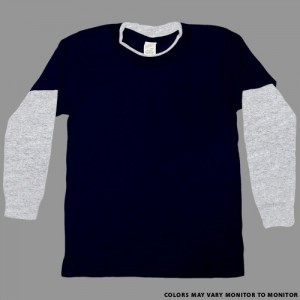JUVY NAVY ATHLETIC HEATHER